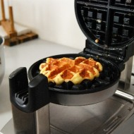 Liege Waffles Cooking
